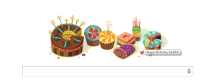 google happy birthday