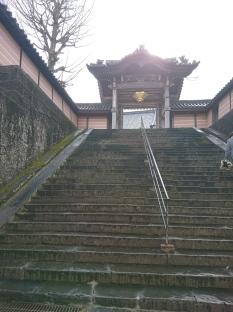 Shrine di area situs perumahan Takashima