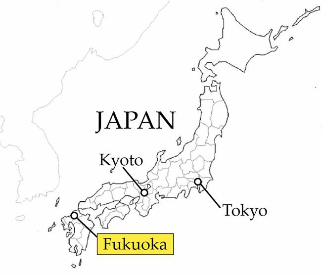 mapFukuoka